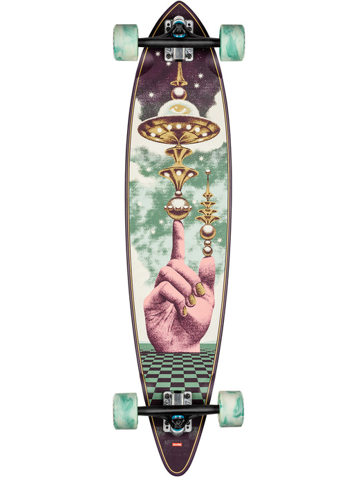 Globe Skateboard Pintail 37 in The Launcher