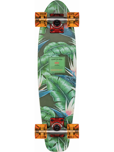 Globe Skateboard Surf Glass in Waikiki Black