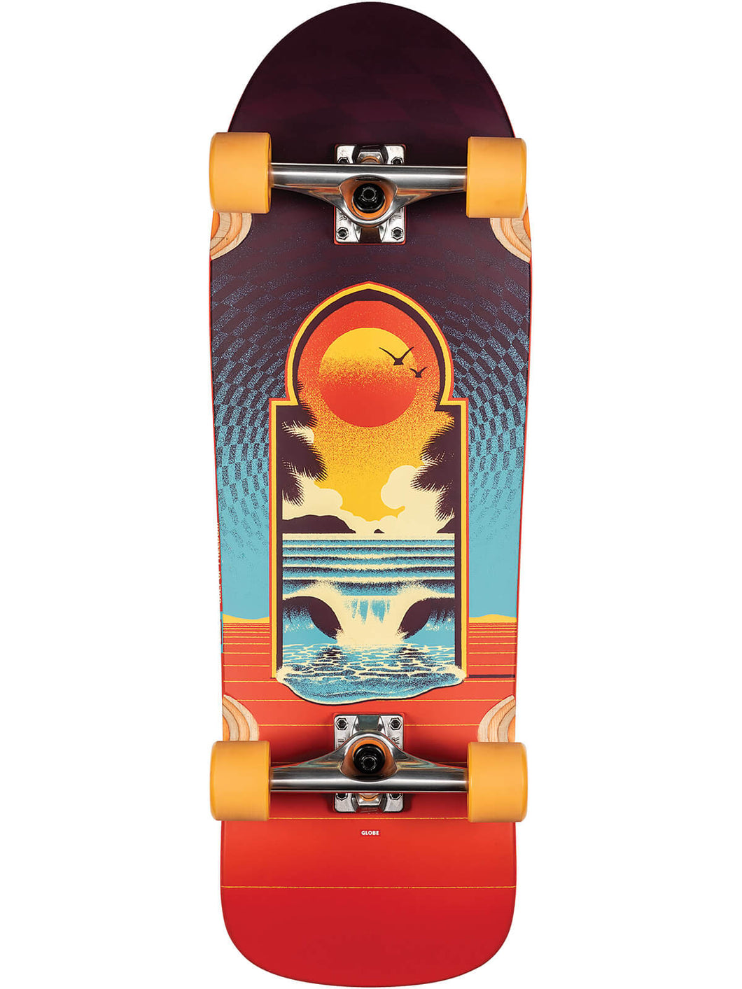 Globe Skateboard Aperture in Cult of Freedom/Portal