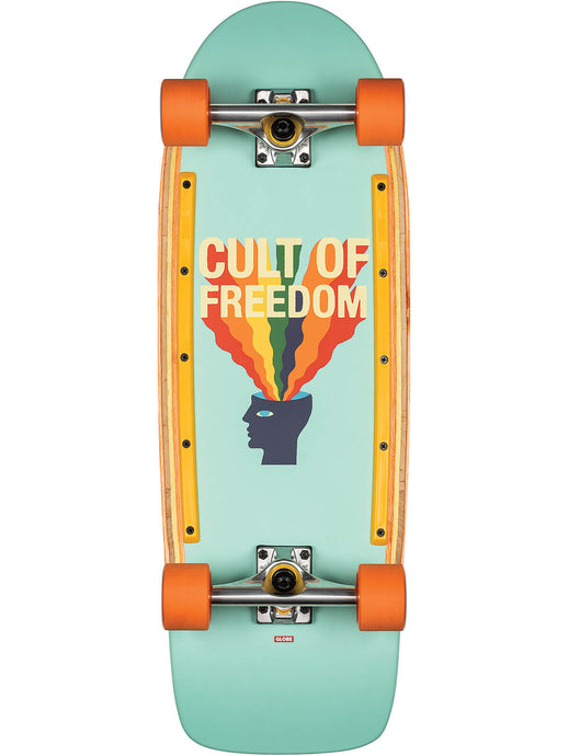 Globe Skateboard Burner in Cult of Freedom/Explode