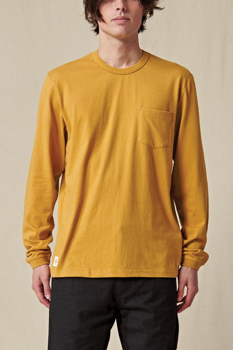 Globe TEE L/S Every Damn Day LS Tee in Honey