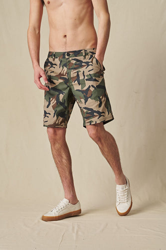 Globe SHORTS Any Wear Short in Olive Camo