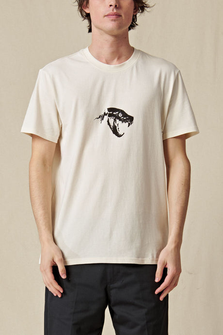 T-shirt Globe - Dion Agius Hollow Tee in Bleach Free Dye Free