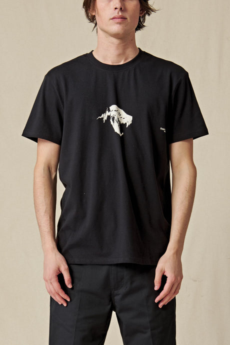 T-shirt Globe - Dion Agius Hollow Tee in Black