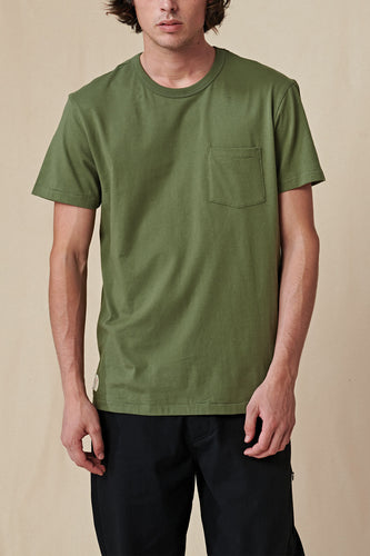 Globe TEE S/S Every Damn Day Tee in Olive