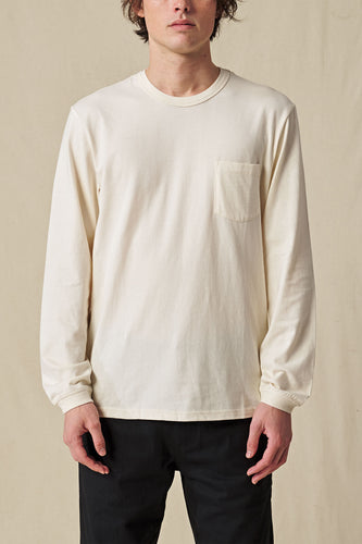 Globe TEE L/S Every Damn Day LS Tee in Bleach Free-Dye Free