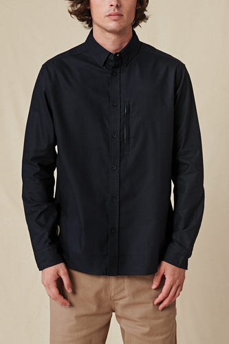 Globe SHIRTS Foundation LS Shirt in Black