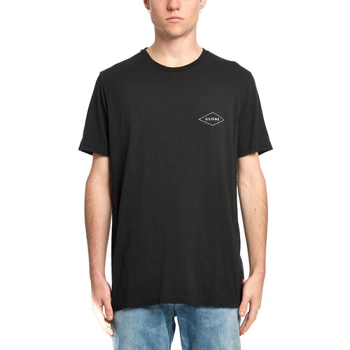 Globe TEE S/S Check Out Tee in BLACK