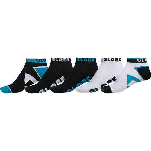 Globe DESTROYER ANKLE SOCK 5 PACK