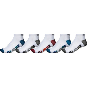 MULTI STRIPE ANKLE SOCK 5PK
