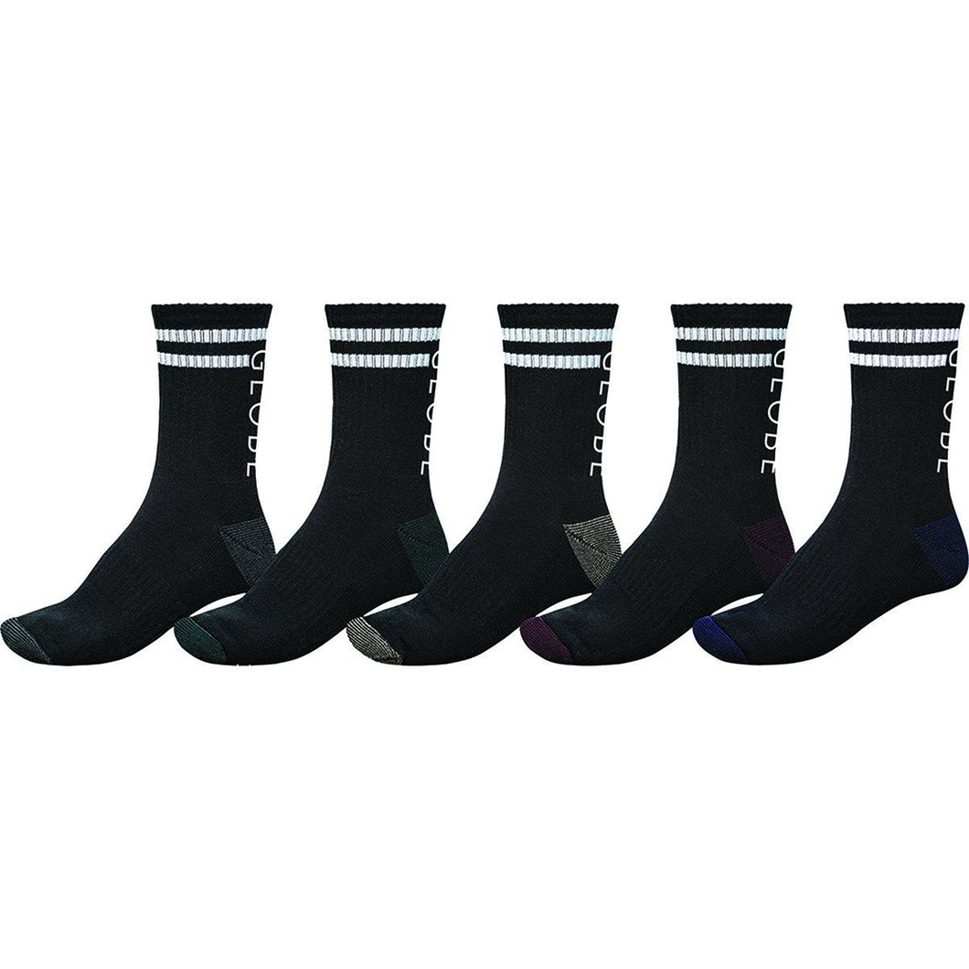 Globe Carter Crew Sock 5 Pack