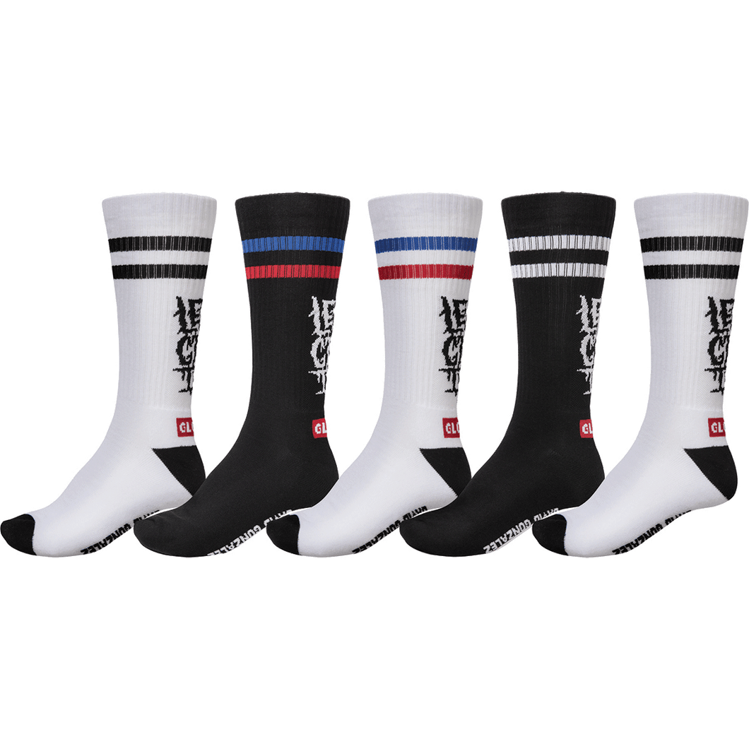 Globe Lets Get It Crew Sock 5 PACK