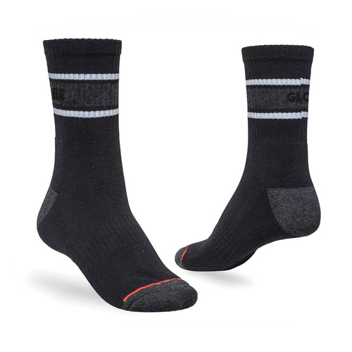 Globe Triple Stripe Crew Sock 5 Pack in Assorted