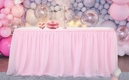Party Home Decorations Table Skirting