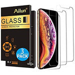Apple iPhone Xs and iPhone X Screen Protector [3 Pack][5.8inch Display] Tempered Glass,2.5D Edge Advanced HD Clarity Work Most Case