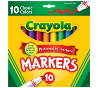 Washable Broadline Markers