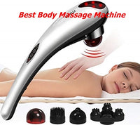 A Best blood circulation Electric Neck, back, body & legs Massage Relax Multi functional.
