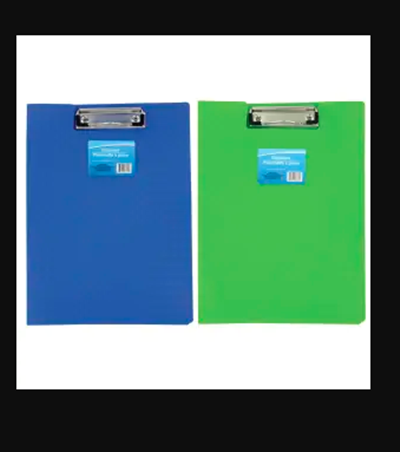 Colorful Plastic Folder 2 piece sets Clipboards