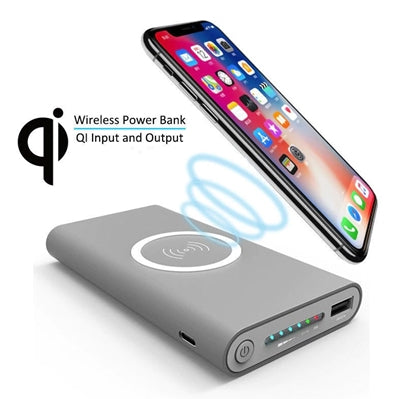 Wireless Charger 30000mAh Power Bank For iPhone X 8 Plus Samsung Note 8 S9 S8 Plus S7 Portable Power bank Mobile Phone Charger