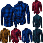 Men's Shirt Slim Fit British Style