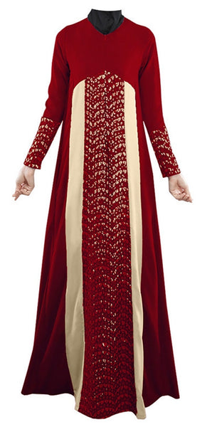 Fashion Abaya Long Sleeve Dresses