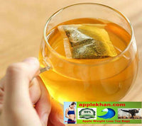 A 100% Pure Natural Apple weight Loss tea 28 Days Colon Cleanse Fat Burn for Man and Women Belly Slimming Tea.