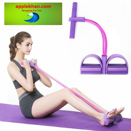 Elastic Pull Ropes Exercise for entire body workout Home Gym