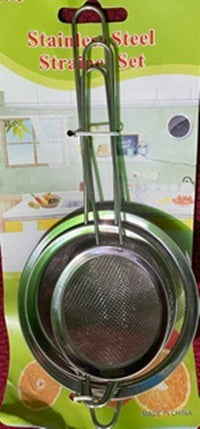 Stainless Steel with Frame and Sturdy Handle, Perfect for Sift, Drain and Rinse Vegetables, Pastas and Tea