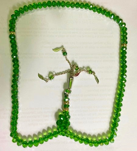 Green  Prayer 100 Beads Tasbih