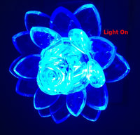 Romantic Lotus Flower Night Light Color Changing
