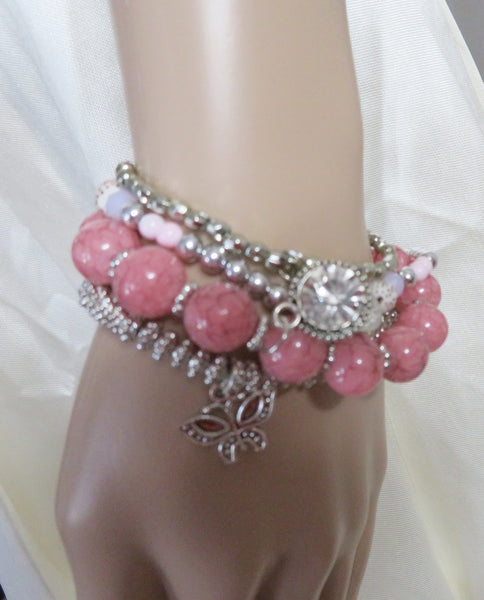 Lovely Pearl Queen head Bracelet