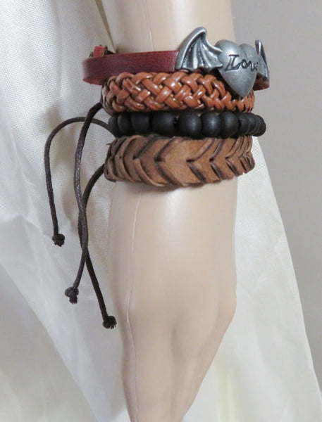 Romantic Leather Handmade Bracelet