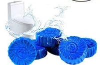 4 PACK AUTOMATIC TOILET BOWL CLEANER TABLETS