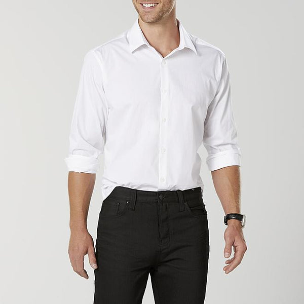 Men's Poplin Modern Fit Dress Shirt