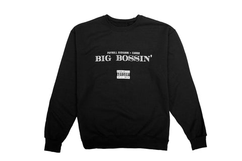 OG Black Crewneck + Digital Album