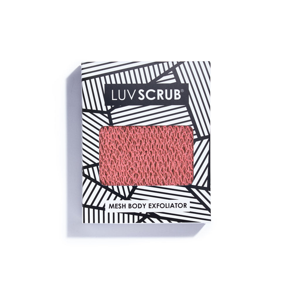 LUV SCRUB - Mesh Body Exfoliator, Naked Sunset