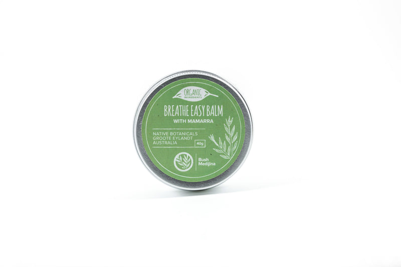 Breathe Easy Balm with Mamarra, 40g
