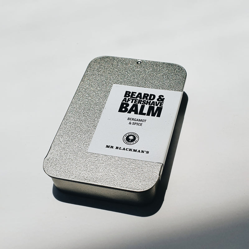 Beard and Aftershave Balm - Bergamot & Spice, 40ml