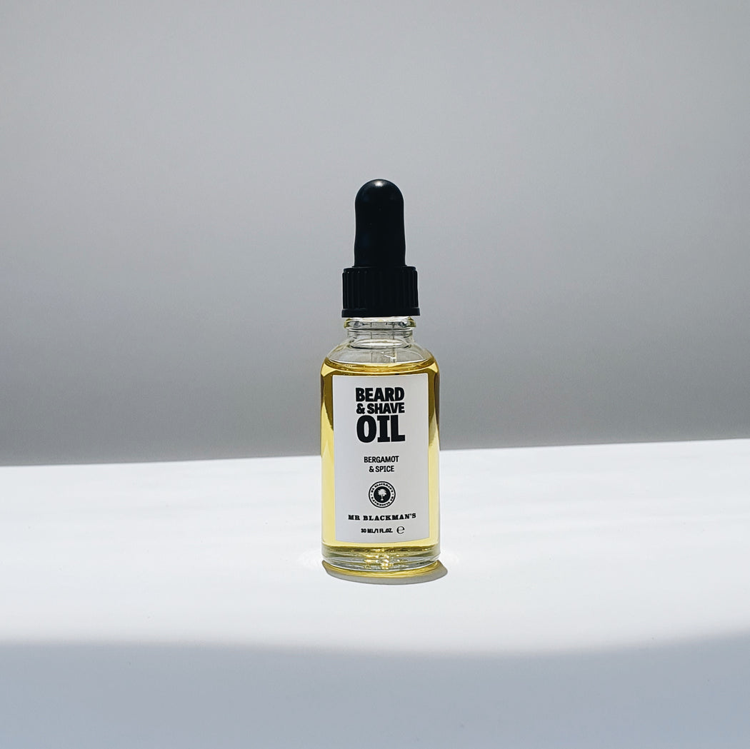 Beard and Shave Oil - Bergamot and Spice, 30ml