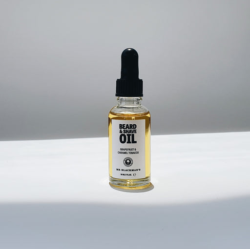 Beard and Shave Oil - Grapefruit & Caramel Tobacco, 30ml