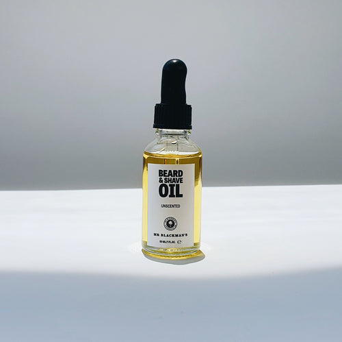 Beard and Shave Oil - Unscented, 30ml