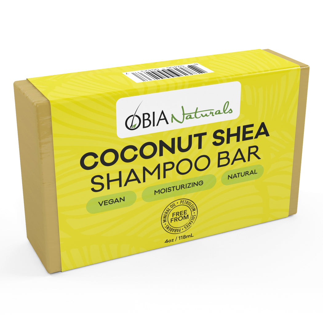 Coconut & Shea Shampoo Bar