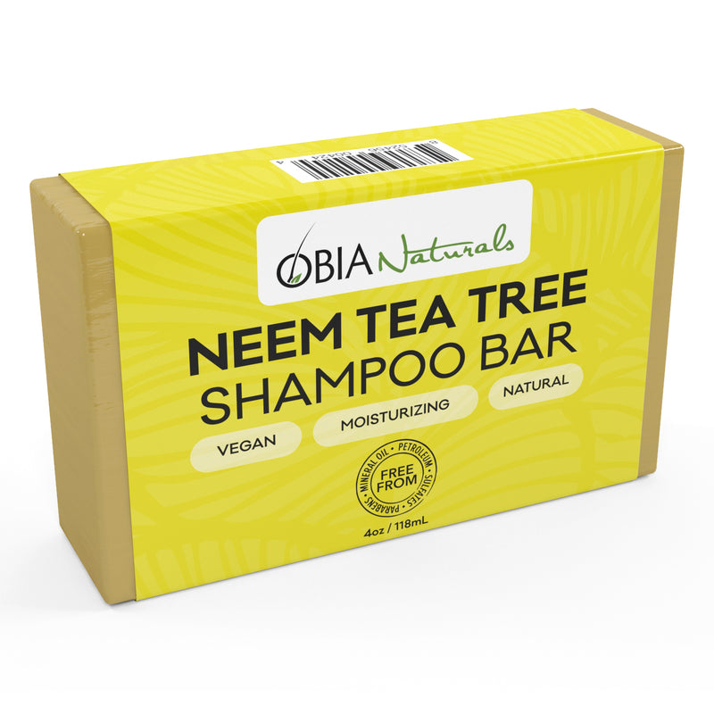 Neem & Tea Tree Shampoo Bar