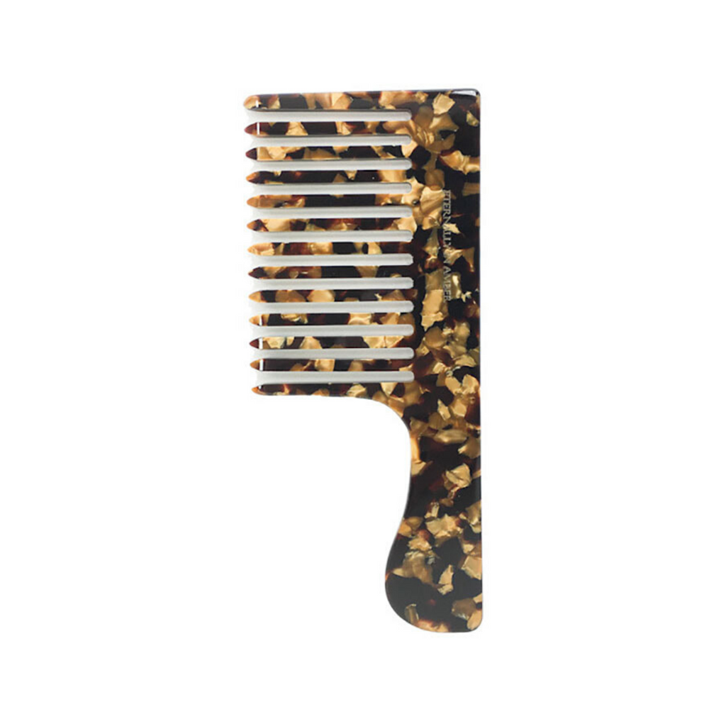 Signature Black/Gold Granite Shampoo Comb