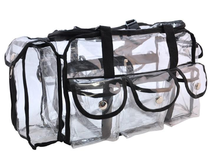 Large Clear Plastic Tote