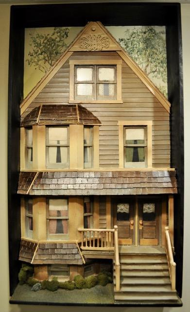 3-Dimensional House With Porch Wall Art
