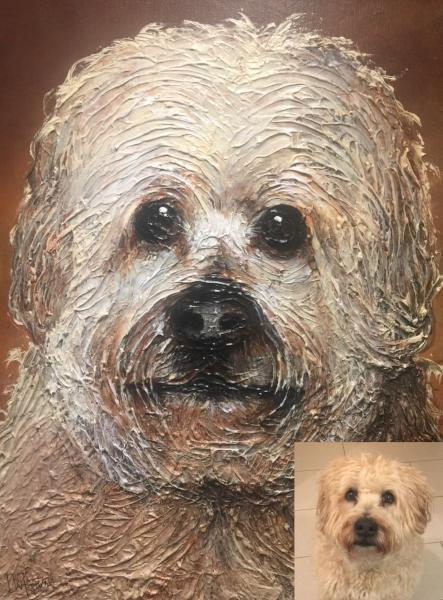Paint Your Pet - Custom Painting From a Picture