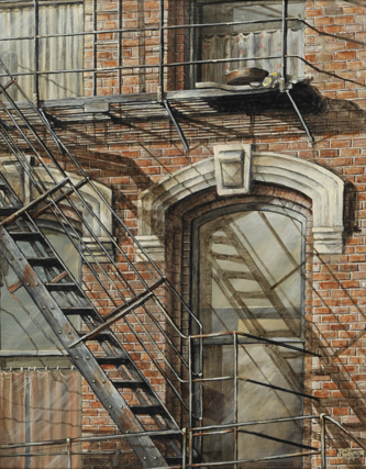 SOLD OUT - Fire Escape
