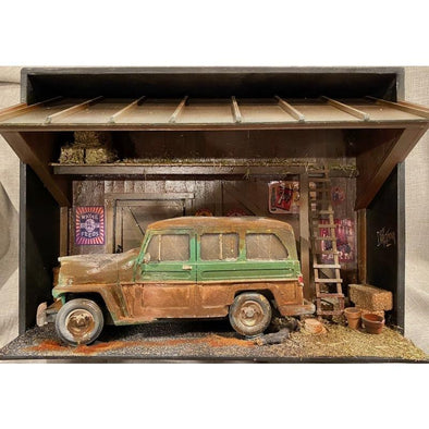 Barn FindOld Jeep Wagon #2
