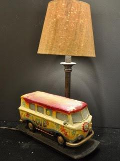 VW Love Van Lamp